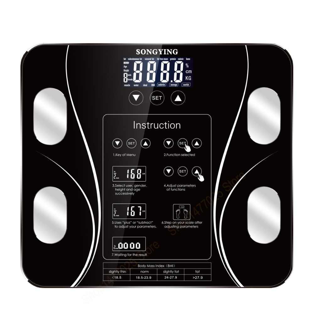 77c377549c11 Hot Digital Bathroom Weight Scales Floor Smart Body Fat Mi Scale ...