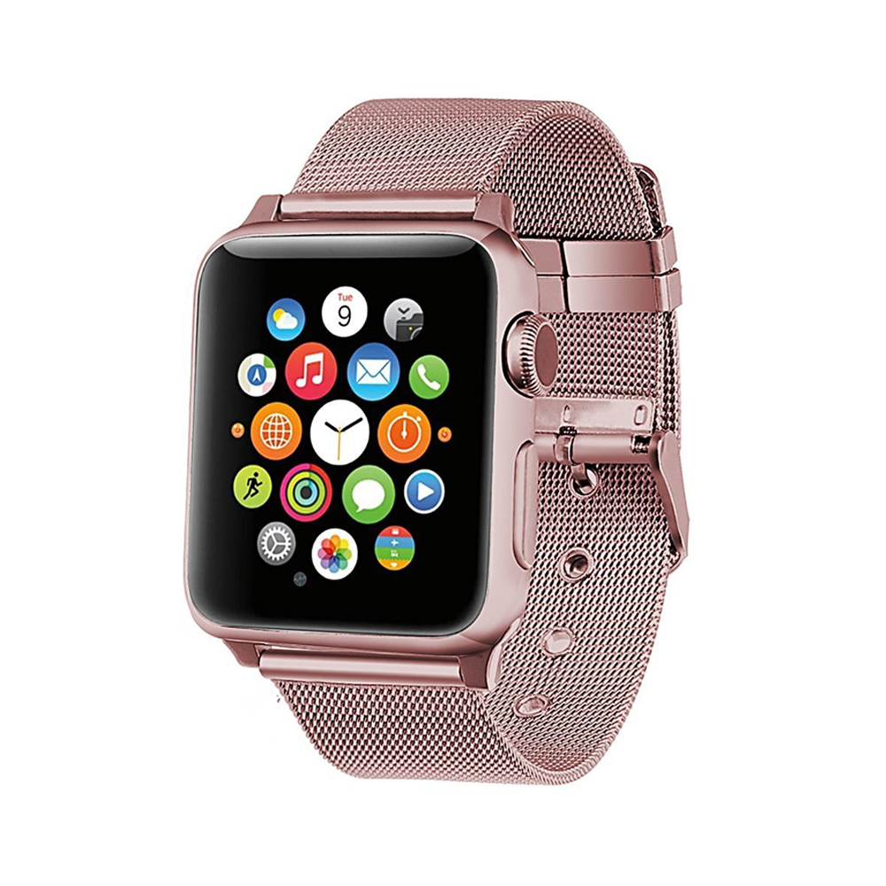 luxury Milanese strap for apple watch band 42mm 38mm stainless steel metal bracelet mesh belt watchband for iwatch serise 3 2 1 литвинова а литвинов с заговор небес