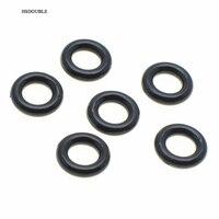 10000 шт./упак. 13/64 (5 мм) внутренний диаметр. Пластиковые круглые кольца для одежды спортивная одежда веревка Riband