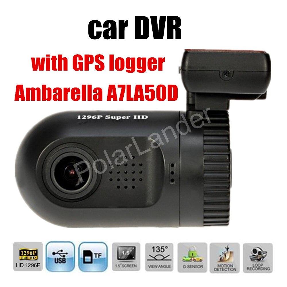 New arrival Dash Cam Mini 0805 Ambarella A7 Car DVR Camera Recorder HD With GPS logger G-sensor 135 degree wide viewing angle new arrival 2 7 inch ambarella a7 car camera dvr recorder g90 hd 170 degree wide viewing angle g sensor night vision