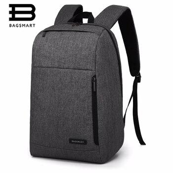 BAGSMART Business Trip Backpack Travel Laptop Backpack For college  Fit 15.6 Inch laptop and Notebook BlackGreyBlue laptop bag