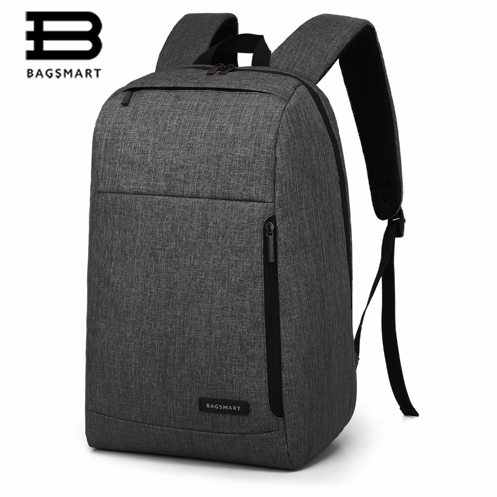 BAGSMART Business Trip Backpack Travel Laptop Backpack For college  Fit 15.6 Inch laptop and Notebook Black/Grey/Blue sendiwei fashion travel backpack for 15 6 notebook laptop black