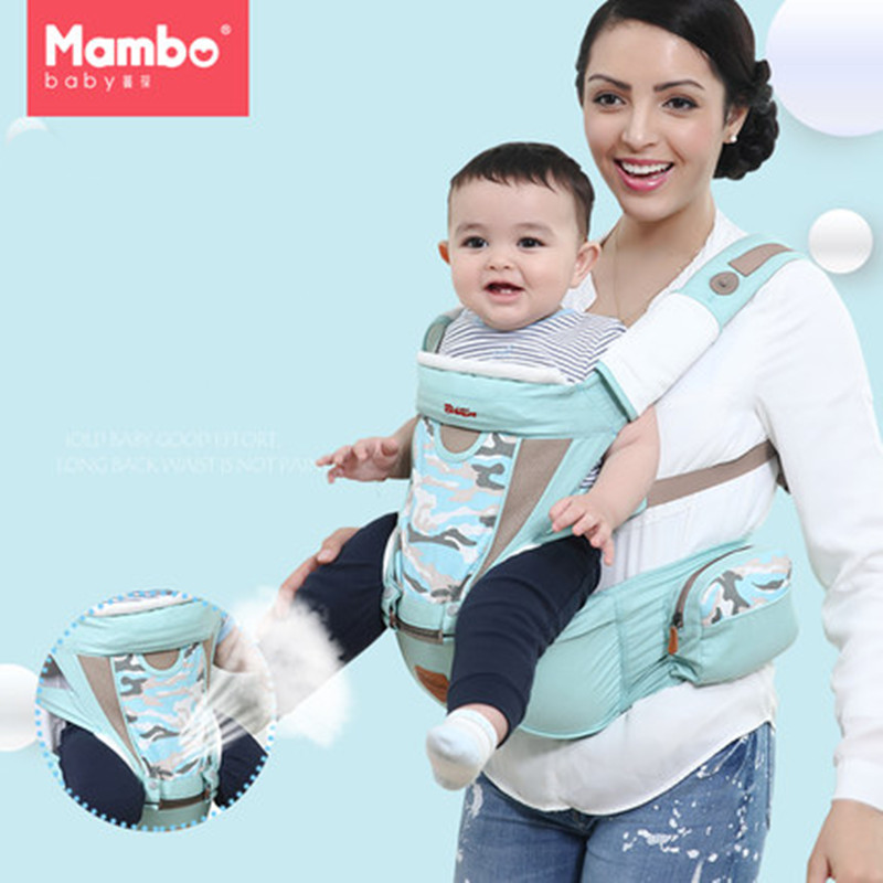 Mambobaby Cotton Ergonomic Baby Carrier with windproof cap Newborn baby Wrap Sling Backpacks Adjustable Kids Manduca Carrier цены