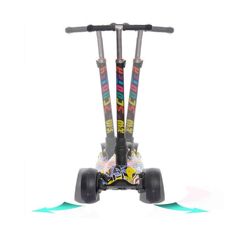Sepeda Skuter Hadiah untuk Anak-anak Menyenangkan Latihan Mainan Skuter Anak Kick Scooter
