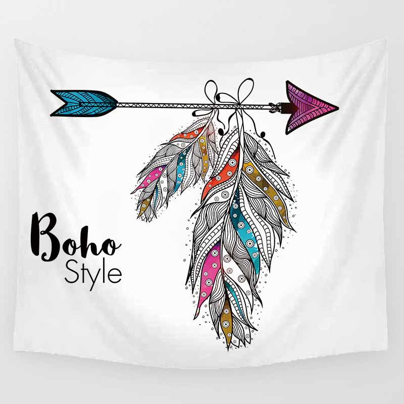 Unicorn boho style large tapestry hd wall hanging tapestry home decoration large rectangle bedroom wall tapestry in Tapestry from Home Garden
