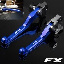 цена на For Husqvarna FX350-FX450 2017 FX 350 450 CNC Aluminum Motorcycle Dirt Pit Bike DirtBike Motocross Pivot Brake Clutch Levers