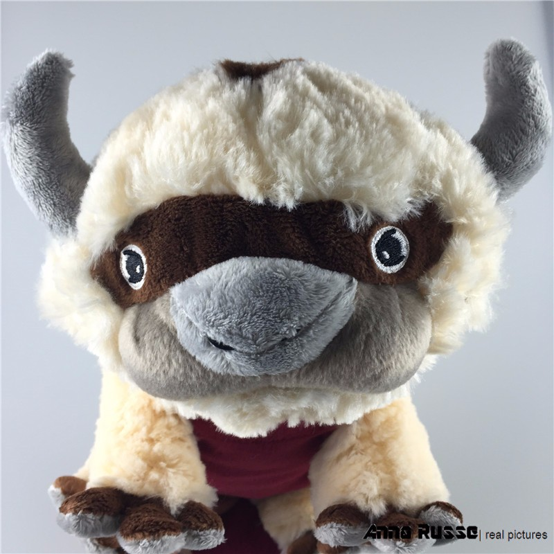 45CM Big Size Anime Kawaii Avatar Last Airbender Appa Plush Toy Soft Juguetes Stuffed Animal Brinquedos Doll Kids Toys the last airbender resource appa avatar stuffed plush doll toy x mas gift 50cm