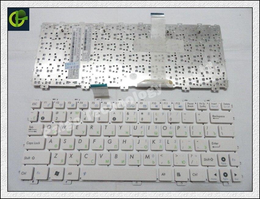 Clavier russe pour ASUS Eee PC 1011 1015 1011C 1025 TF101 1025C 1015PX 1025CE X101 X101H X101CH 1011B 1018PT 1018 P Blanc RU