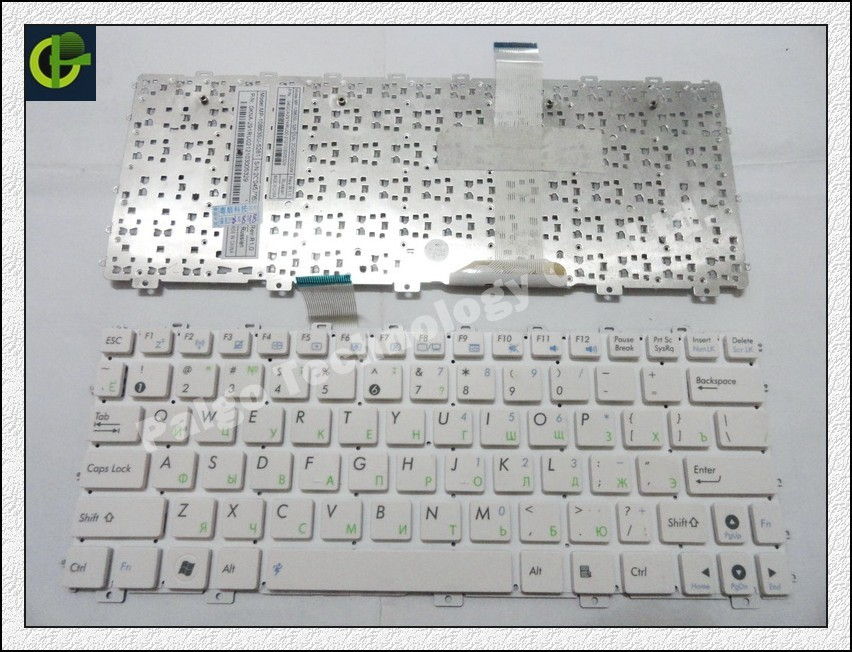 Russian Keyboard for ASUS Eee PC 1011 1015 1011C 1025 TF101 1025C 1015PX 1025CE X101 X101H X101CH 1011B 1018PT 1018P White RU original keyboard for asus eee pad tf101 tablet pc docking base keyboard for tf101 keyboard
