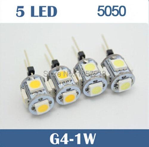 Crystal Light Energy Saving LED ceiling lights led G4-5050-5SMD car led reading lamp room lights 12V LED Lighting