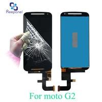 Reepanel LCD Display Touch Screen For Motorola Moto G2 XT1063 XT1064 XT1068 Phone LCD Highscreen Digitizer