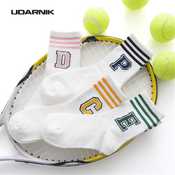 1 pair women cotton running socks sport socks striped letters short ankle preppy style students sock.jpg 250x250