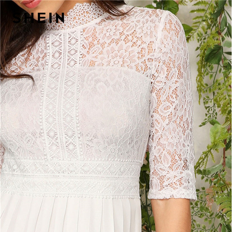 Pleated discount Lace Women