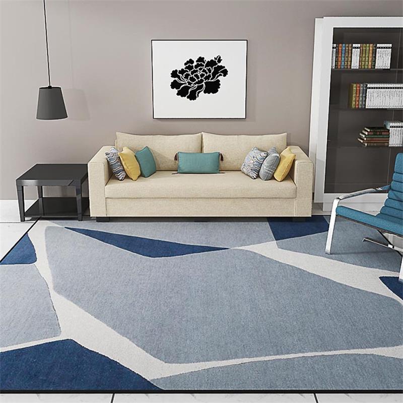 Tapis de canapé de Style nordique pour salon tapis Rectangle et tapis pour chambre Table basse tapis de sol tapis d'étude anti-dérapant