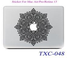 Стикера классическая retina mac ( ) macbook книга цветы новая pro