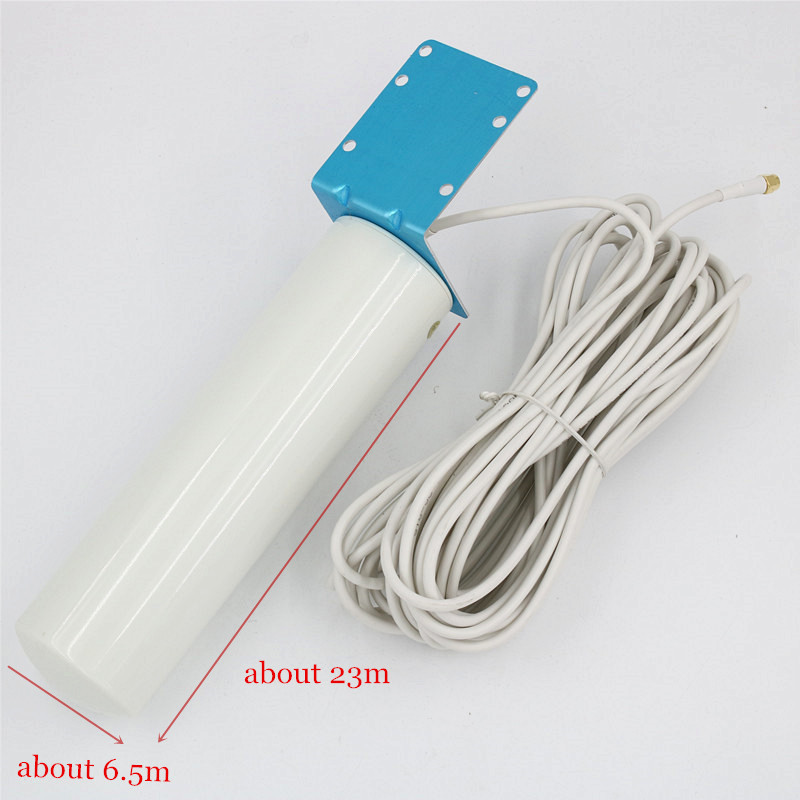 2G 3G 4G antenna with 10m SMA male connector_size