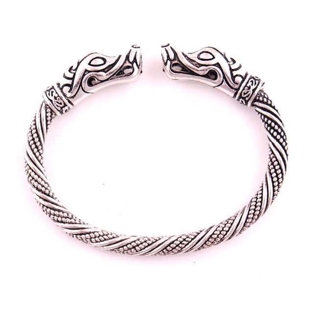 Metal Dog Patterned Open Bracelet