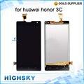 Prueba de 5 pulgadas lcd de pantalla para huawei honor 3c g740 h30-u10 3G Versión Con Pantalla táctil Digitalizador Asamblea 1 unidades el envío libre