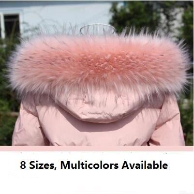 Faux fox fur collar imtation fake fur collar mujeres hombres chaqueta capucha DIY customerized fur bufanda cosplay fur Decoración