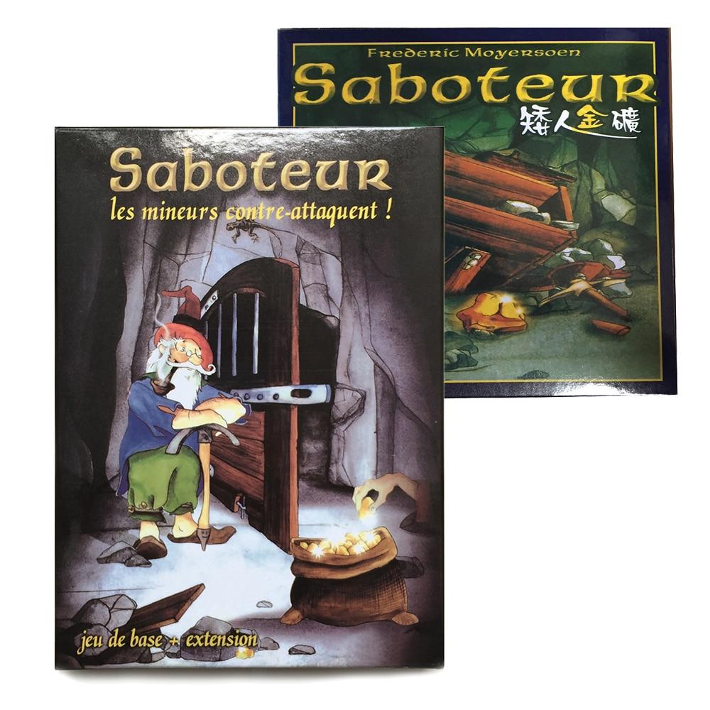 saboteur 1 saboteur 1 2 expansion board game 3 12 players gold reap strategy game jeux de. Black Bedroom Furniture Sets. Home Design Ideas