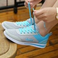 Бренд кроссовки 2017 дешевые кроссовки для женщин светло Вес спортивные тренинг обувь супер легкой сетки студентов спортивные кроссовки