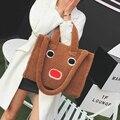 Plush bag handbag and fashion bag robot personality Handbag Shoulder Bag