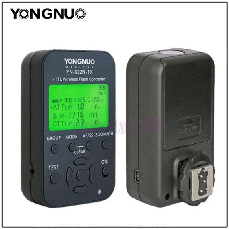 YONGNUO YN-622N-TX YN622N-TX Wireless TTL Flash Controller Transmitter For Nikon D90 D300/D300S/600/D700/D800/D3000/D5000/D7000 yongnuo yn622n tx transmitter controller yn 622n transceiver yn622n kit wireless ttl hss 1 8000 flash trigger for nikon