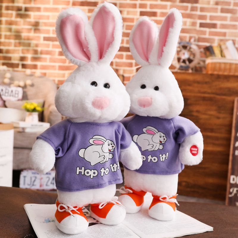 Baby music rabbit bell toy hand bell toy kids hand rattles bell educationalMAEK