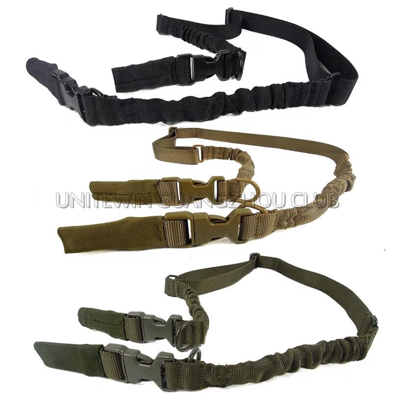 Tactical Hunting Rifle Sling System Multi-función de Liberación Rápida QD 2 Punt