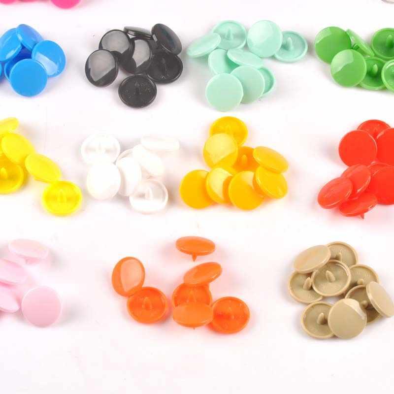 20 zestawów KAM T5 12MM okrągłe zatrzaski przycisk łączniki kapa na kołdrę prześcieradło dodatki do odzieży dla dziecka klipsy do ubrań cp2176