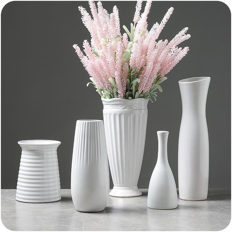 White Ceramic Vases 1