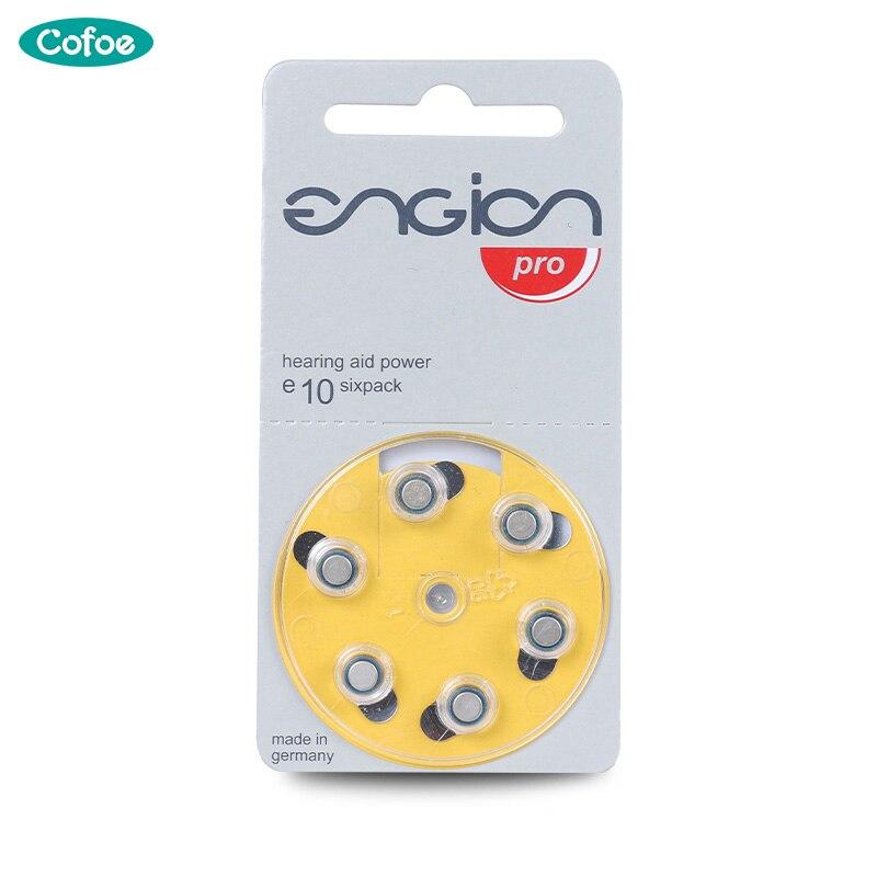 A10 Taste Zelle Hörgerät Batterien Für Cofoe Unsichtbare Hörgerät Alte Hörgerät E10 Batterie 60 Pcs