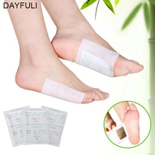 10PCS 5Paris Detox Foot Pad Patches Detoxify Toxins Adhesive Keeping Fit Feet Slimming Cleansing Herbal Adhesive
