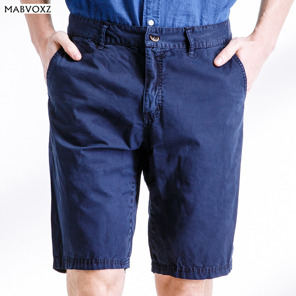 Brand Men Shorts 100% Cotton New 2018 Casual Slim Fit Jeans England Style Summer Thin Cool Breathable Cargo Half Short Clothing