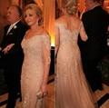 Mãe Dos Vestidos de Noiva Chiffon Calças Suit Luva Dos Três Quartos Vestidos de Noite Formais Mãe Dos Ternos de Noiva Calça