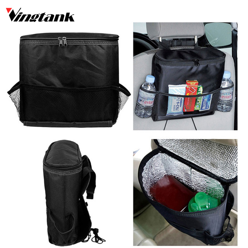 Vingtank Car Seat Back Warmer And Cooler Organizer Bag