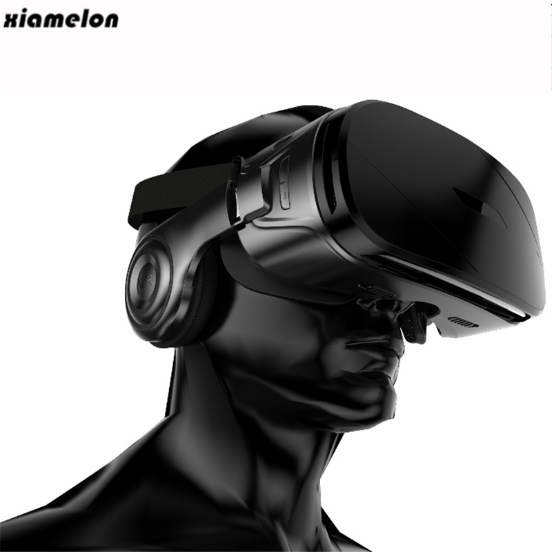 Xiamelon Immersive HD <font><b>VR</b></font> <font><b>Virtual</b></font> <font><b>Reality</b></font> <font><b>Glasses</b></font> <font><b>Adjustment</b></font> Dual Gyroscope <font><b>VR</b></font> Box <font><b>Headset</b></font> for 4.7-6.0 Inch Smartphone