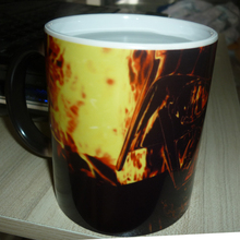 Star Wars Fan Mugs Darth Vader Magic Heat Reveal Color Changing Coffee Mug
