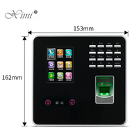 Cheapest High Speed ZK FA200 Face Time Attendance Face recognition Time Clock With Fingerprint Door Access Control System