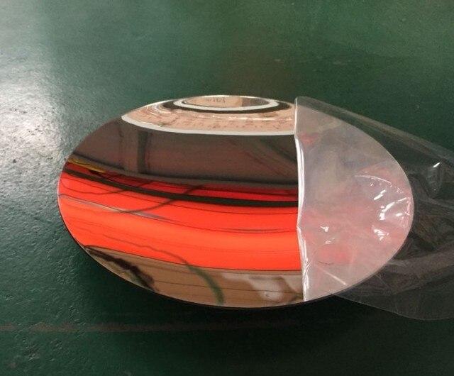 1 pc plástico acrílico espelho parabólico côncavo foco menor proteção uv resistente durável refrective