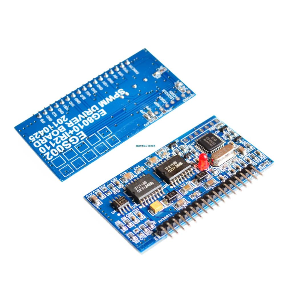 """Image 2 - Pure Sine Wave Inverter Driver Board EGS002 """"EG8010 + IR2110"""" Driver Module +LCD-in Integrated Circuits from Electronic Components & Supplies"""