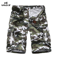 2016 Summer New Brand Fashion Men Casual Camouflage Harem Pant Military Style Jogger Short Pants Calf
