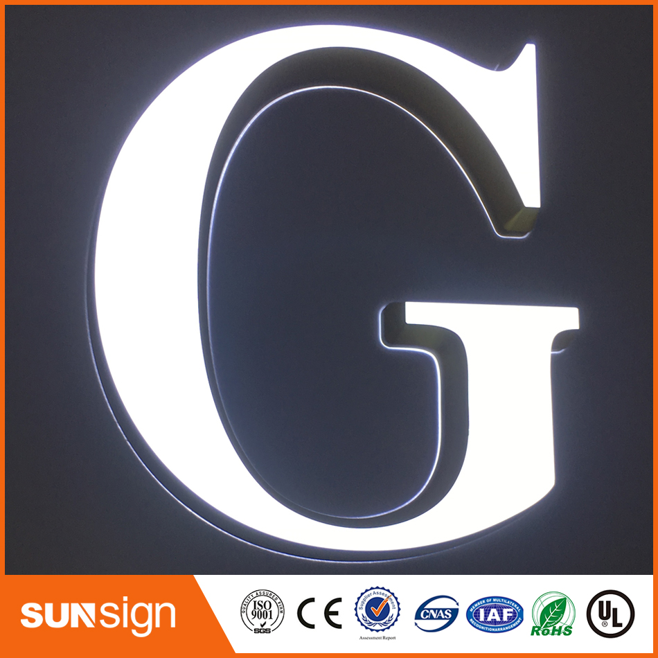 Custom 30mm Depth Acrylic Mini Letter Signs