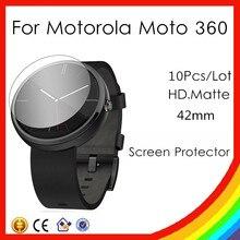 10X HD Matte Anti Displayschutzfolie Für Motorola MOTO360 Smartwatch Watch42mm Schutz Volle Abdeckung Schutz Schutz Film Aufkleber