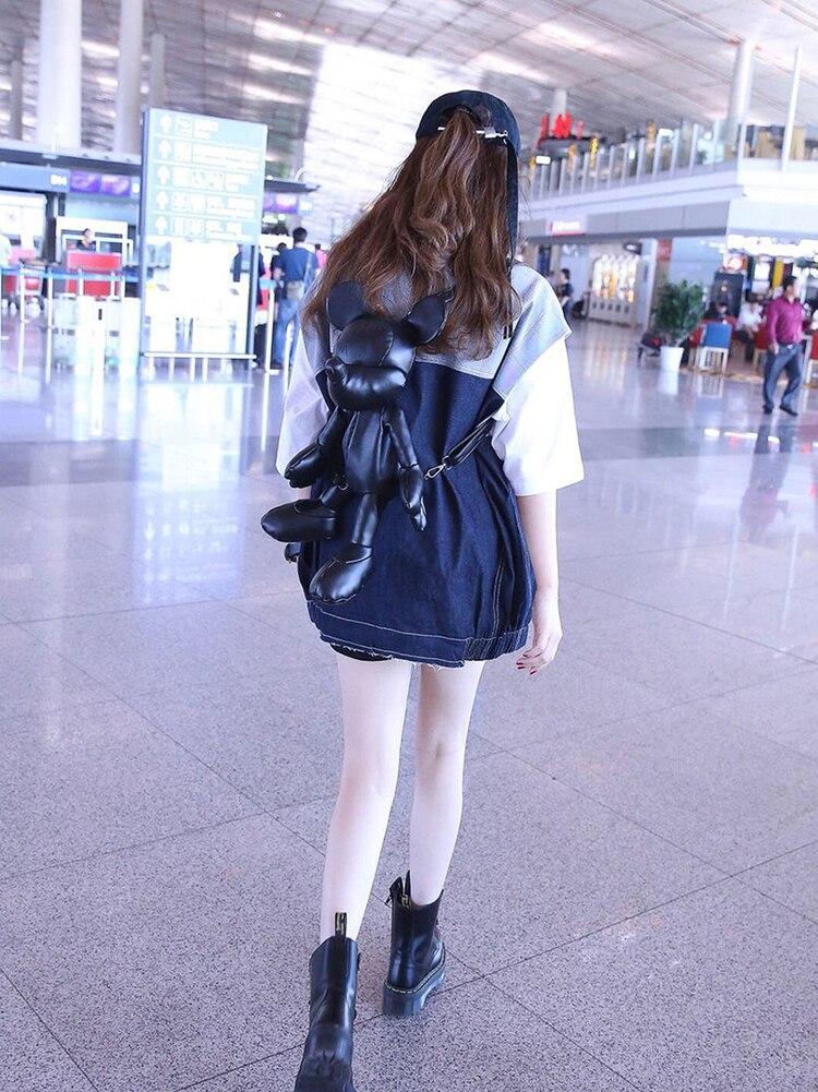 Acquista Reale Belle 2019 Grossi Stivali Suola In Cuoio Genuina Di Stile Caldo Donna Caviglia Stivali Nero Lace Up Scarpe In Pelle Da Donna A $177.79