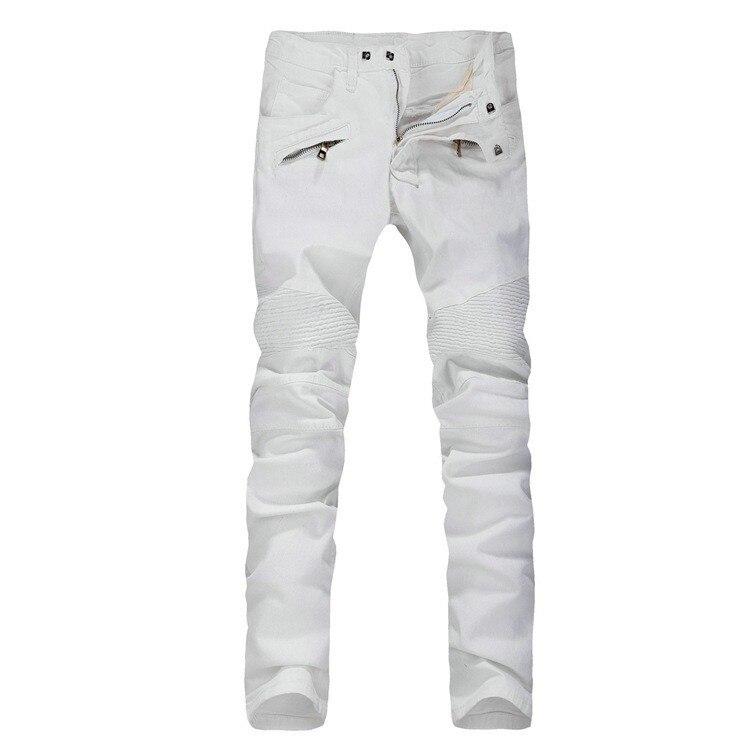 Cheap Mens White Jeans - Xtellar Jeans