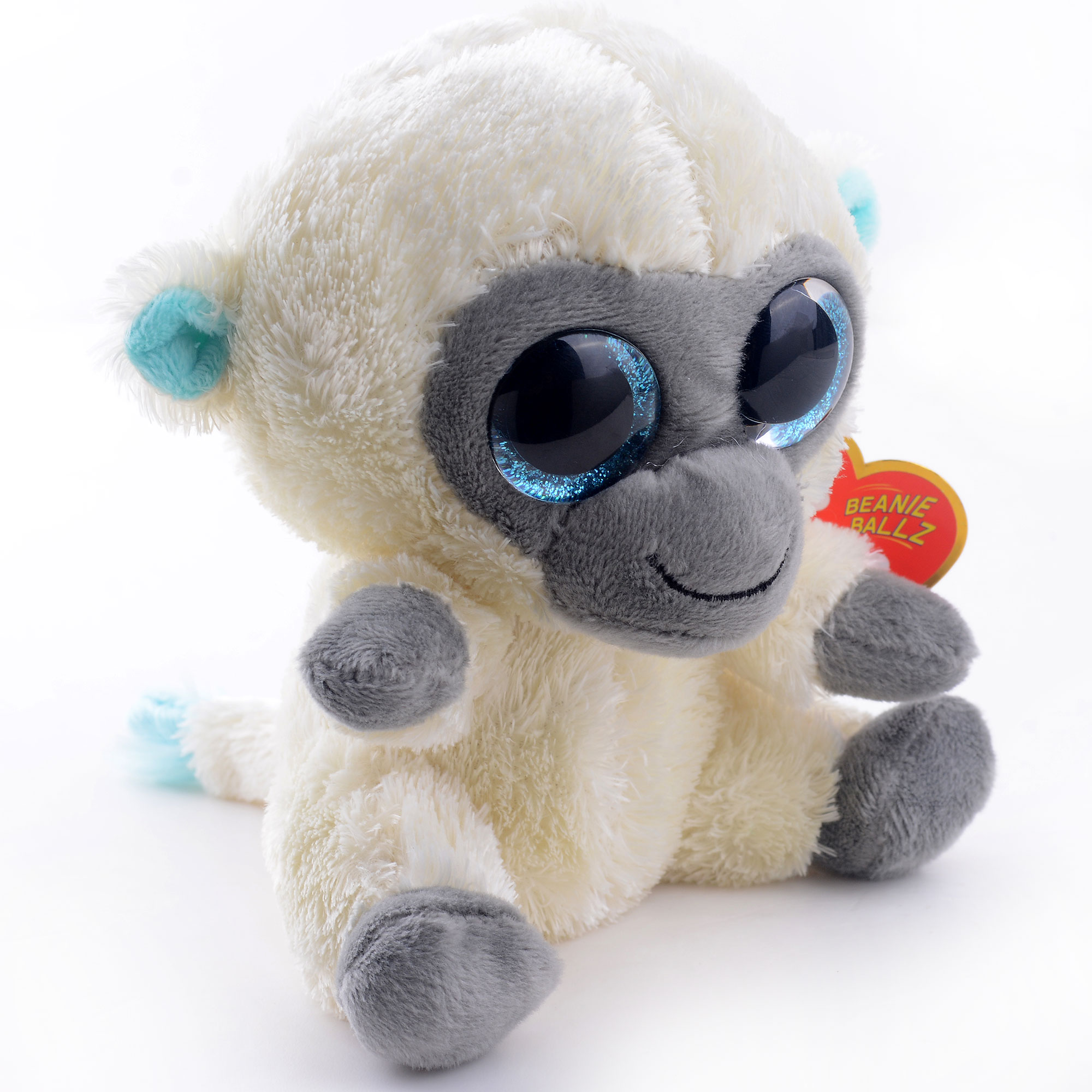 665bf001bda Cute 5   Original TY Collection MAGIC White Monkey Plush Toys Kids Small  Stuffed Animal Classic Doll Toy For Christmas Gift  LN-in Men s Costumes  from ...