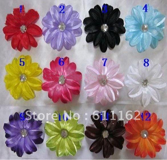 Лилии цветок волос Детские волосы украшают цветок Детские Волосы Девушки банты 180 шт в партии