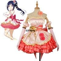 Люблю жить солнце Aqours Мацуура Kanan платье майка форма наряд аниме Костюмы для косплея