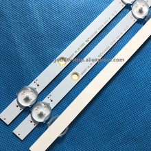 3 pièces LED Lampe bande 17DLB40VXR1 LB40017 V0_05_38S pour Bush VES400UNDS 2D N11 VES400UNDS 2D N12 Toshiba 40L3653DB 40L1653DB